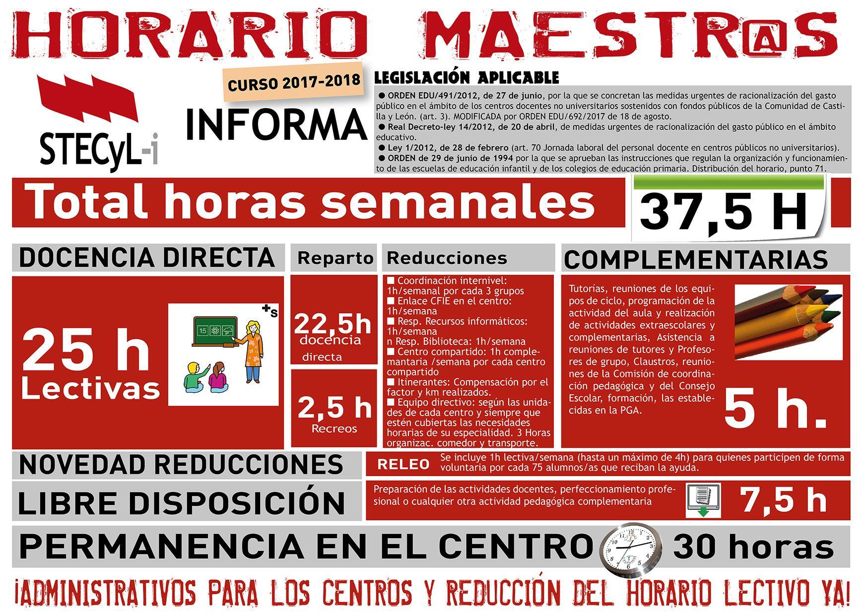 CARTEL HORARIO MAESTROS 2017-18 orden 692