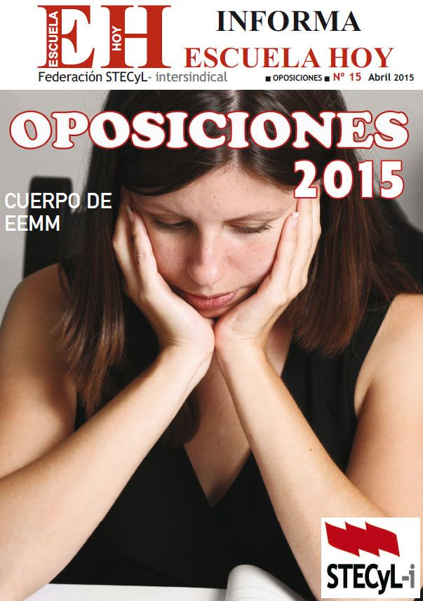 Oposiciones 2015 EEMM
