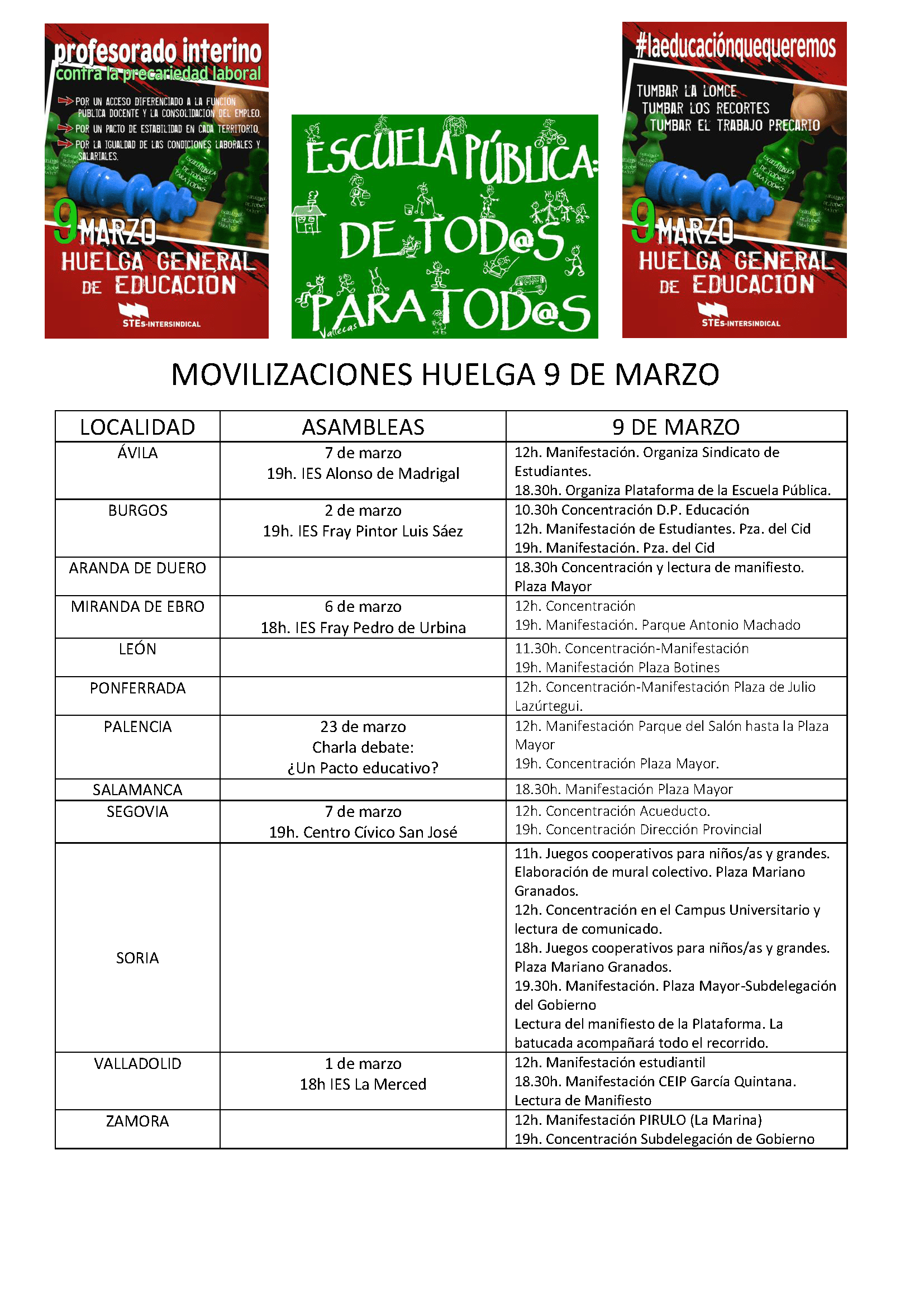 9M2017-Movilizaciones