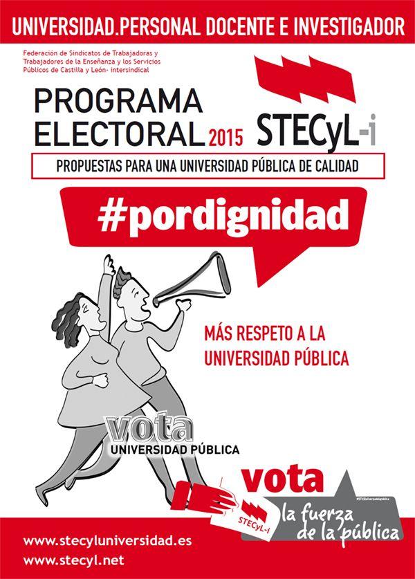 Universidades CyL  Elecciones
