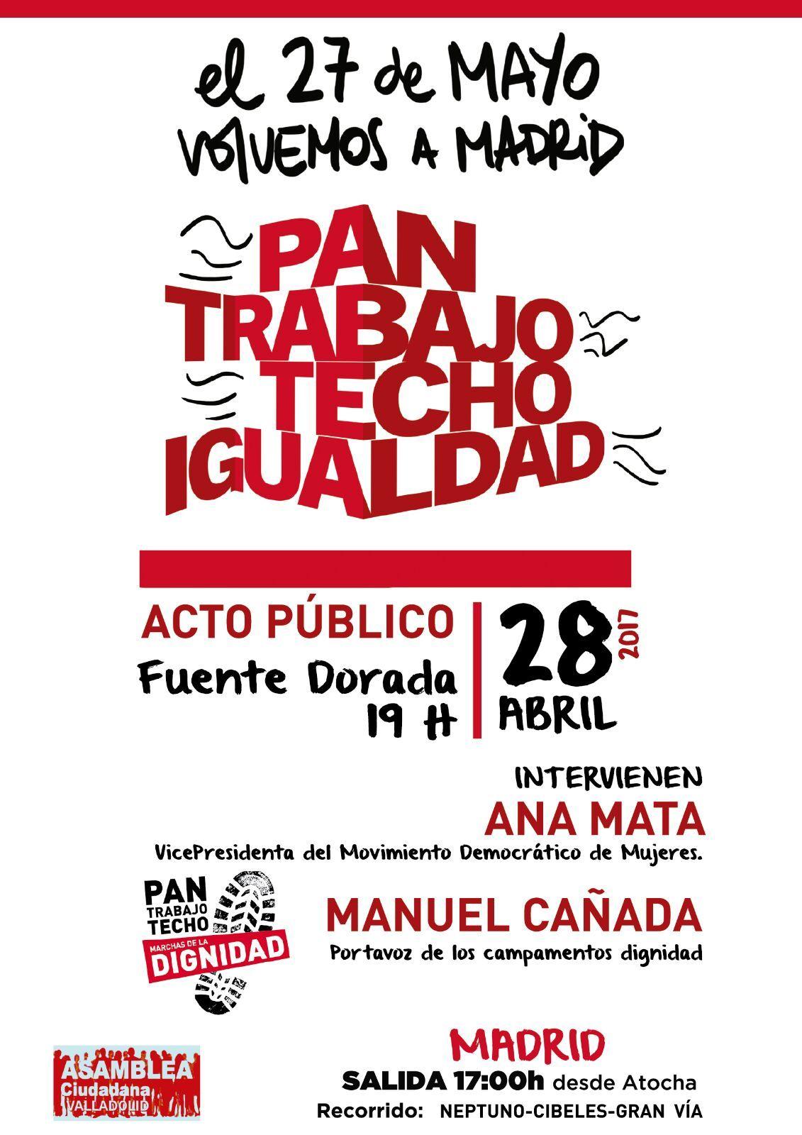 Acto_Publico_Valladolid_Marchas_Dignidad