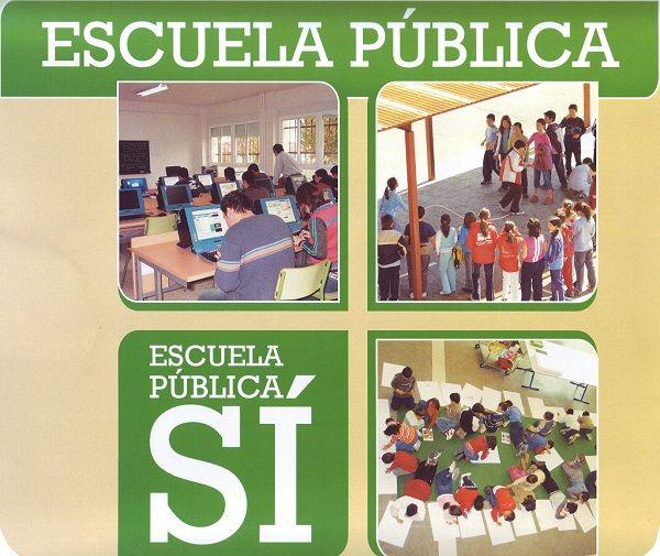 Matricula a tus hijos en la Escuela Pública