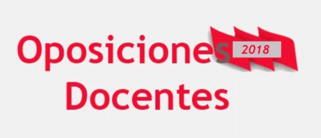 oposiciones-2018