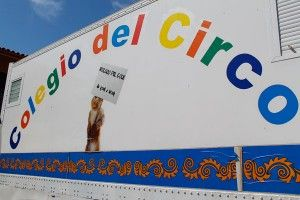 Aula colegio público del circo
