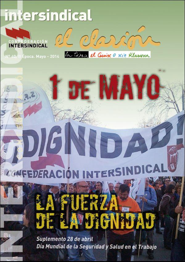 1 de mayo de 2014. La fuerza de la dignidad