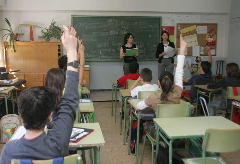 CLASE BILINGÜE EN EL COLEGIO QUEVEDO