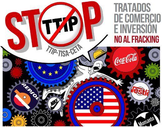Firma: Acción Europea contra el fracking y el Tratado de Comercio TTIP