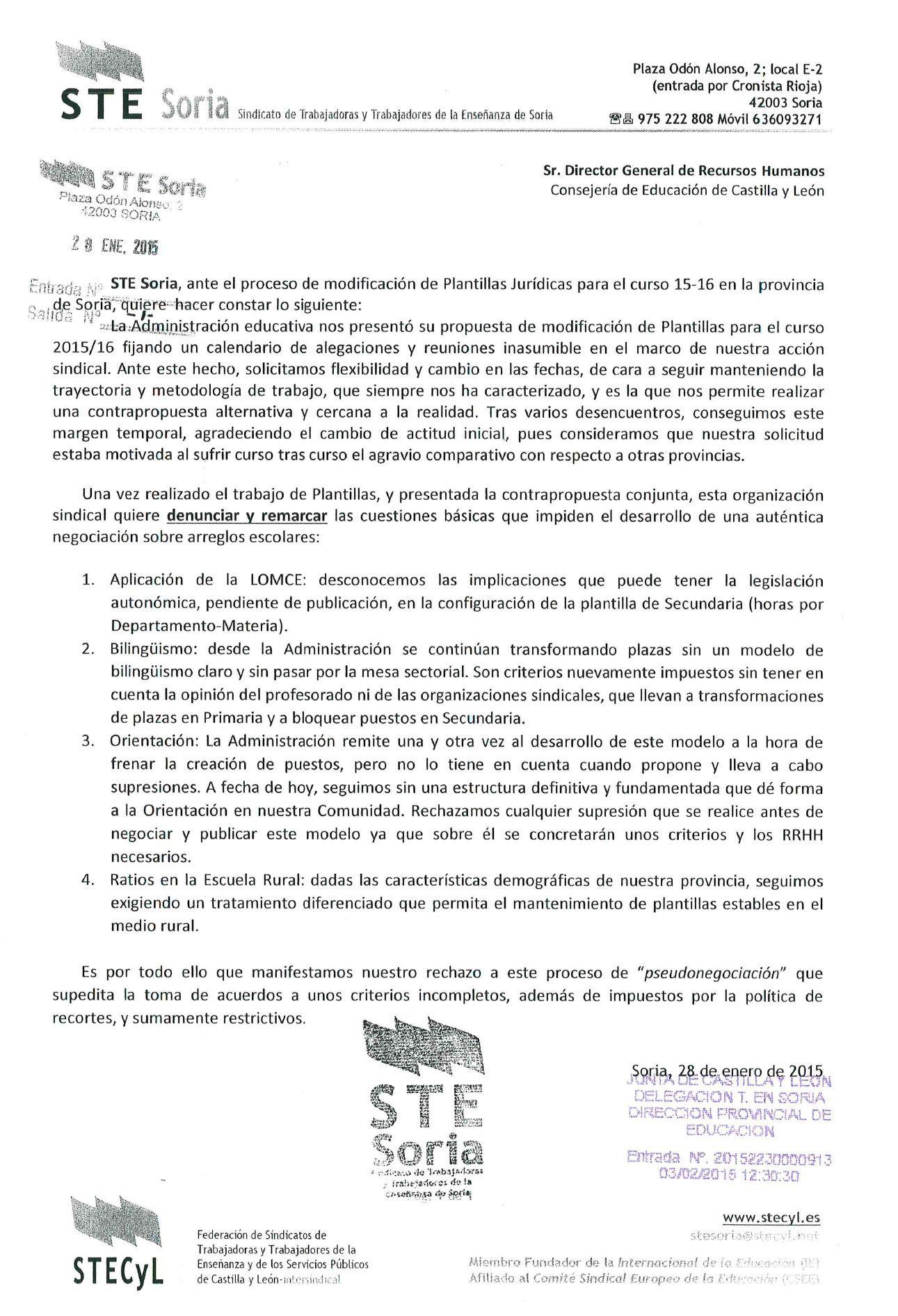 150125_Denuncia_pseudonegociacion_Plantillas