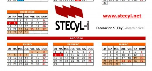 Calendario Universitario.Calendario Escolar Archivos Stecyl I