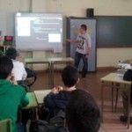 Los alumnos del Bachillerato de Excelencia del IES �Andr�s Laguna� presentaron sus proyectos de Investigaci�n. / E. A