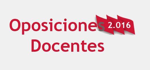 Oposiciones-2016