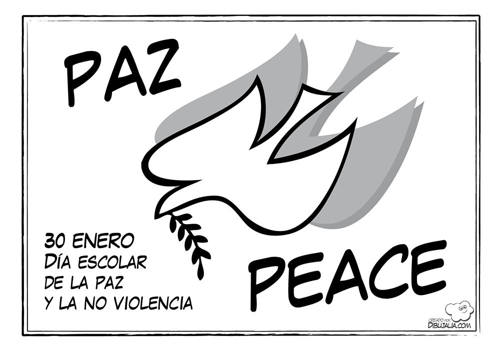 30 De Enero Día Escolar De La No Violencia Y La Paz Stecyl I