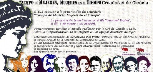Calendario Mujeres en el Tiempo. León