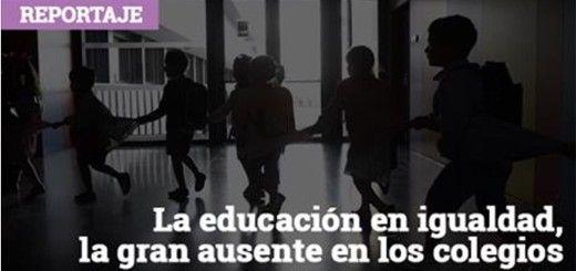 Reportaje: La educación en igualdad, la gran ausente en los colegios españoles