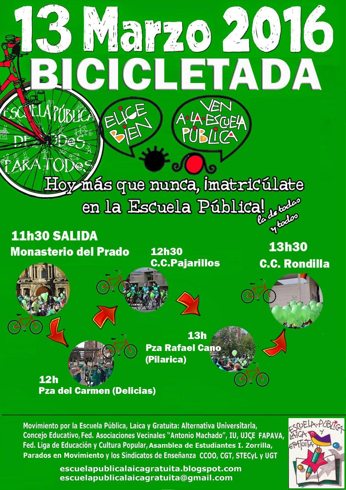 bicicletada 2016 para cartel