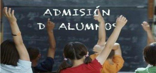 Admisión alumnado