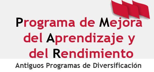 Pmar Programa Mejora Aprendizaje Y Rendimiento Alumnado De
