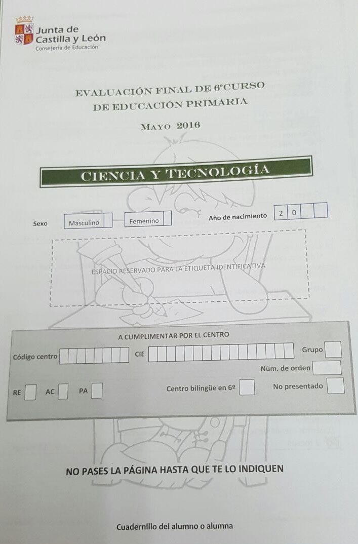 Revalida-6P-CyL2016-Ciencia