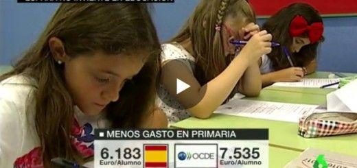 España-no-invierte-en-Educación