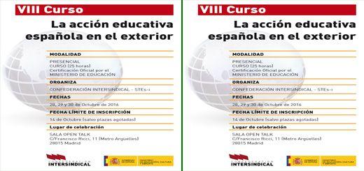 Profesorado seleccionado plazas en secciones biling es de for Accion educativa espanola en el exterior