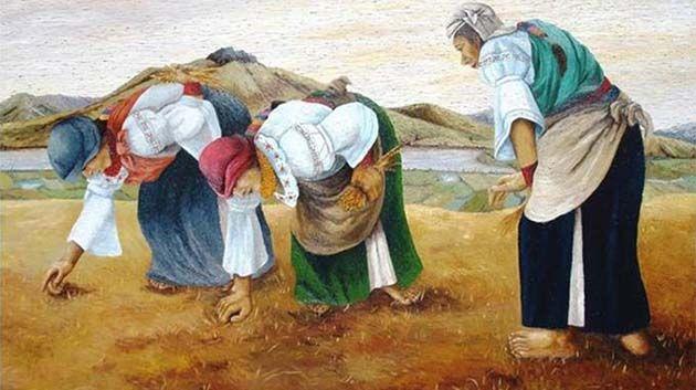 Resultado de imagen de mujer rural españa niños
