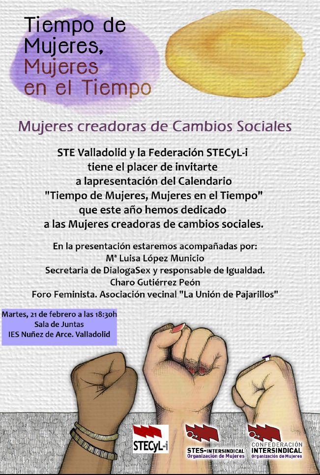 Calendario-tiempo-mujeres-2017-Valladolid