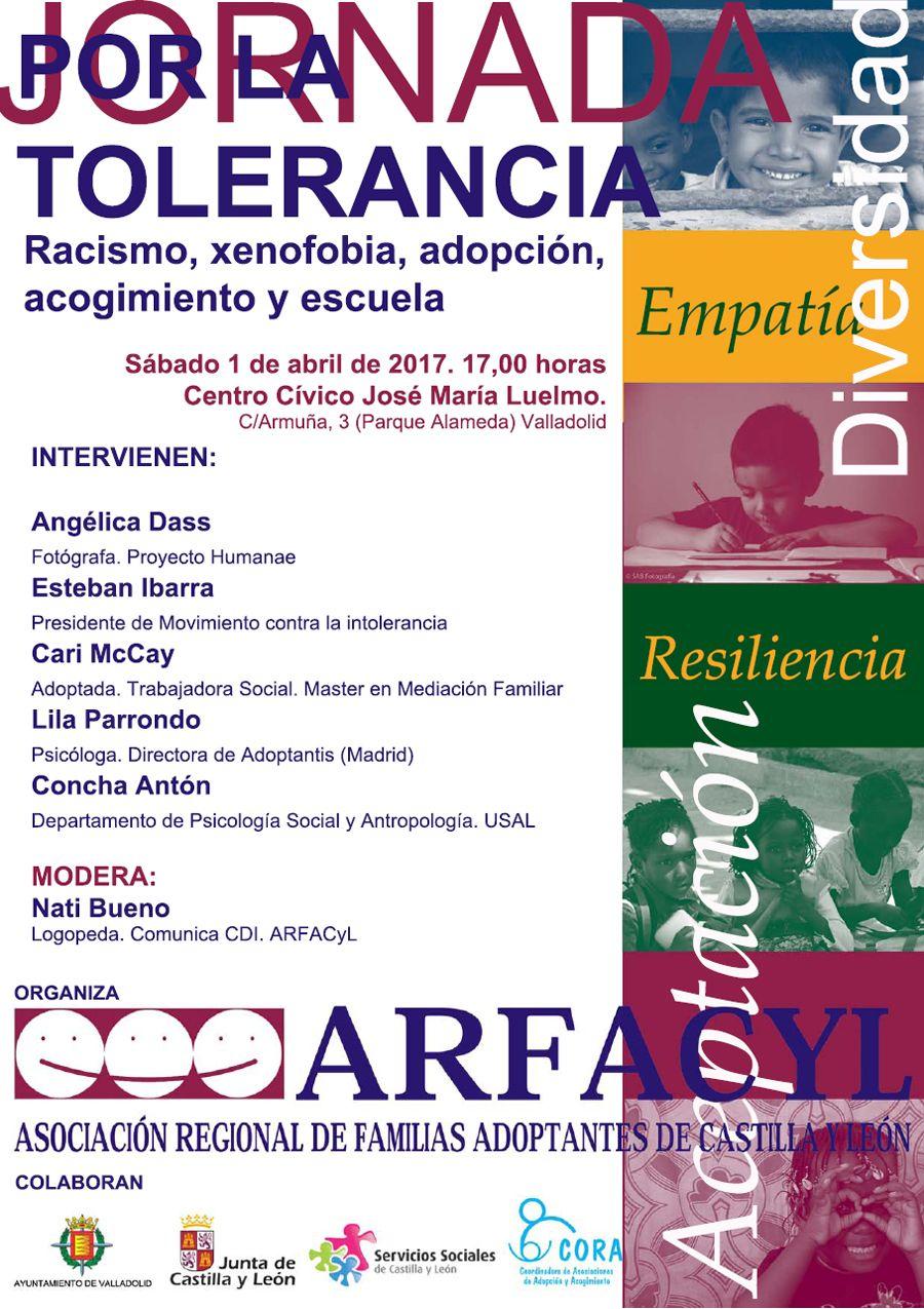 Cartel-jornada-racismo-Arfacyl-abril-2017