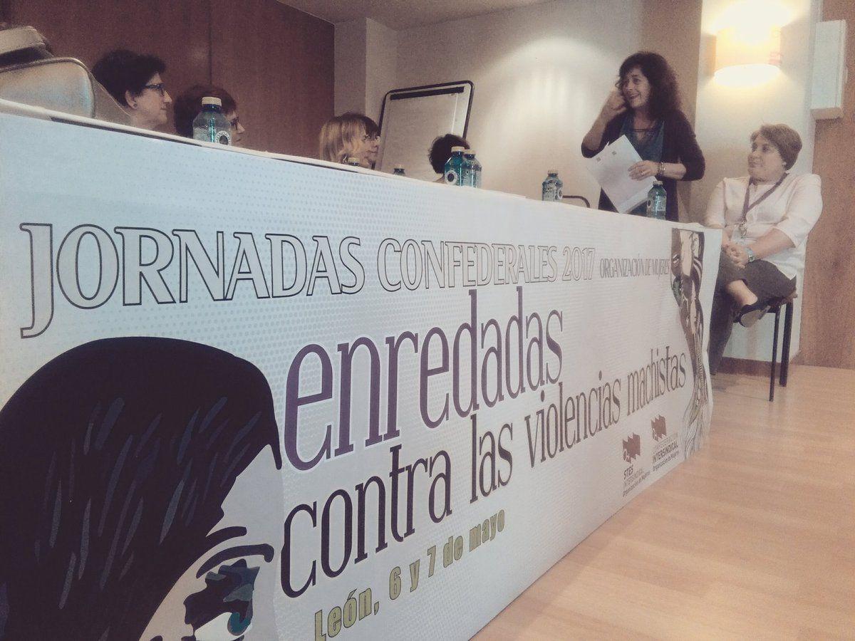 Francisca López García: la Organización de Mujeres es eje en la Confederación Intersindical y lideramos lucha #OMenredadas @OrgMujeresCI