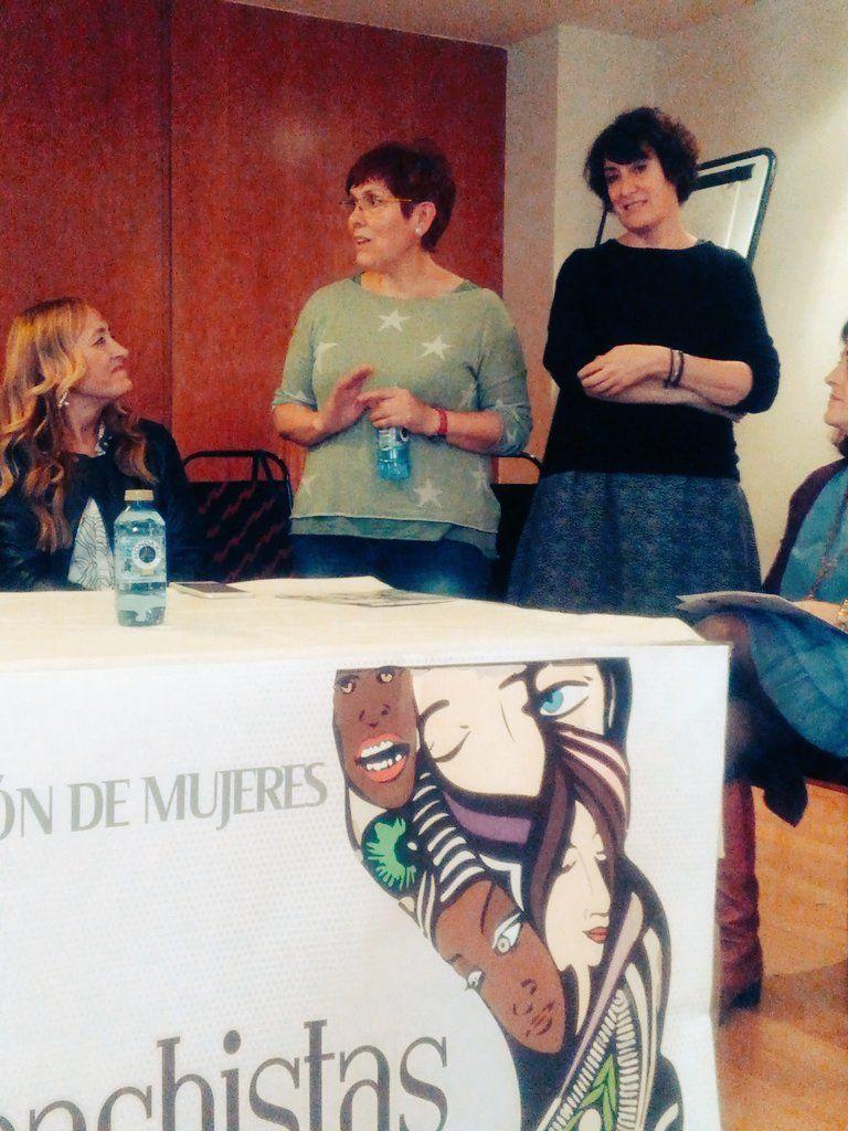 Fermina Bardón Álvarez y Rosa Zafra Lizcano responsables Intersindical y STEs: necesitamos organizaciones de mujeres fuertes #OMenredadas
