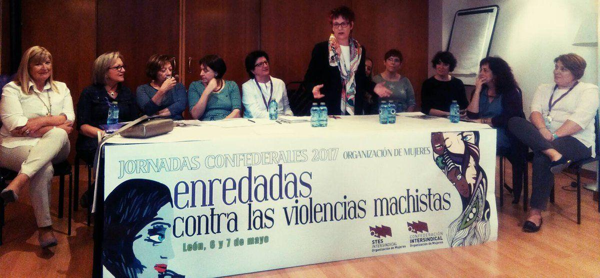 Nuestra compañera Alicia Poza sobre internacionalismo y feminismo en el homenaje a las mujeres responsables @OrgMujeresCI #OMenredadas