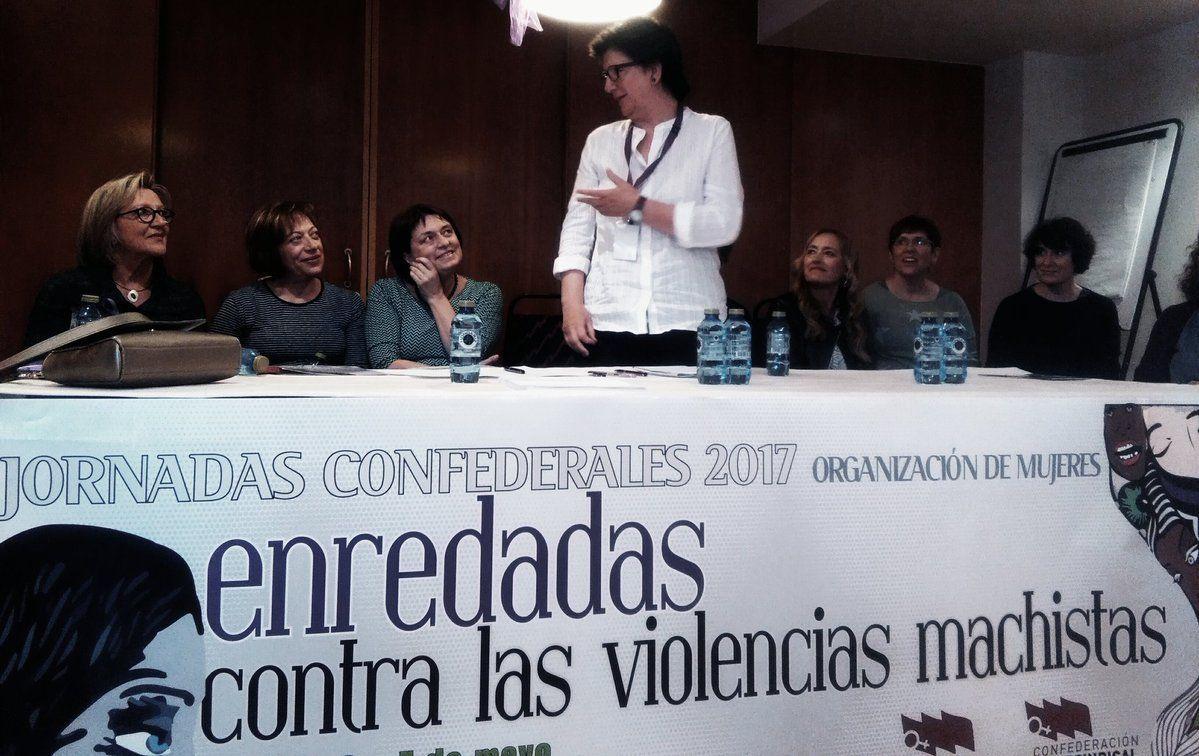 Laura Villafuerte Rodríguez recoge los logros de Poio y los retos de la paridad #OMenredadas @OrgMujeresCI