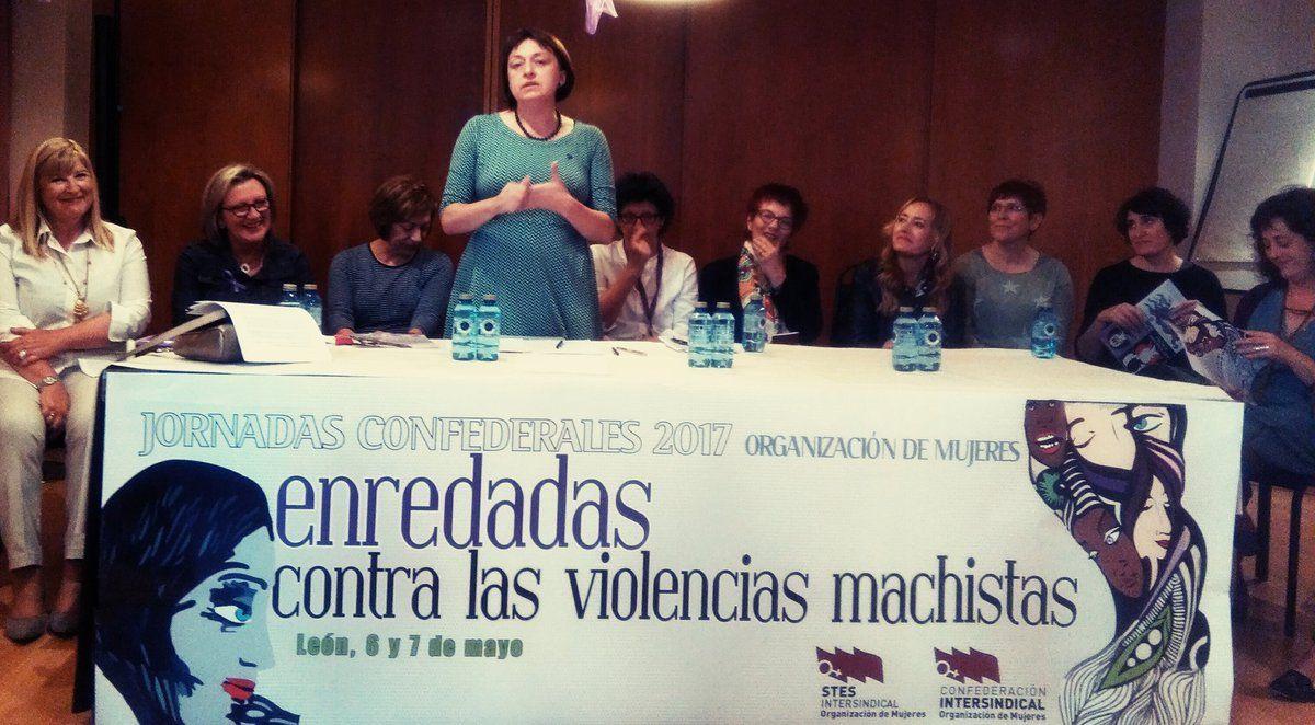 Branca Guerrero Muñoz sobre la formación feminista entre las mujeres de la @OrgMujeresCI #OMenredadas