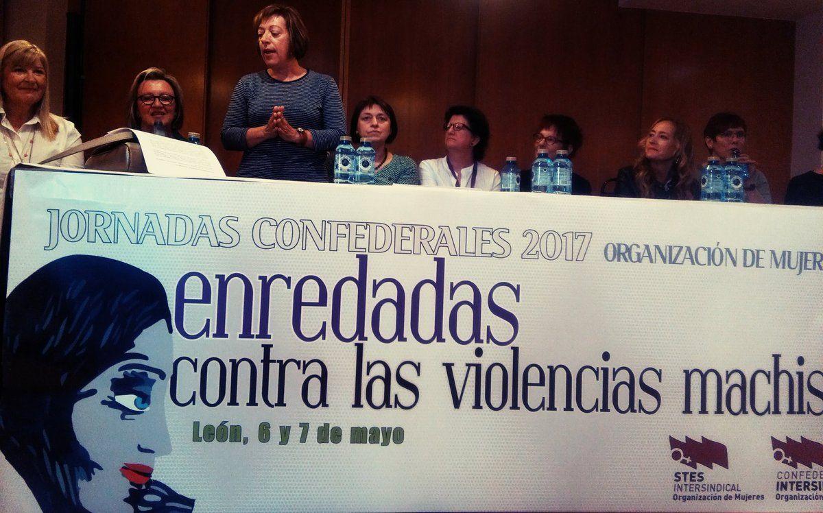 Pilar Catalán Romea nos cuenta cómo llegamos a ser un sindicato feminista #OMenredadas @OrgMujeresCI