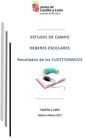 Resultado de imagen de GUÍA DEBERES ESCOLARES CASTILLA Y LEÓN