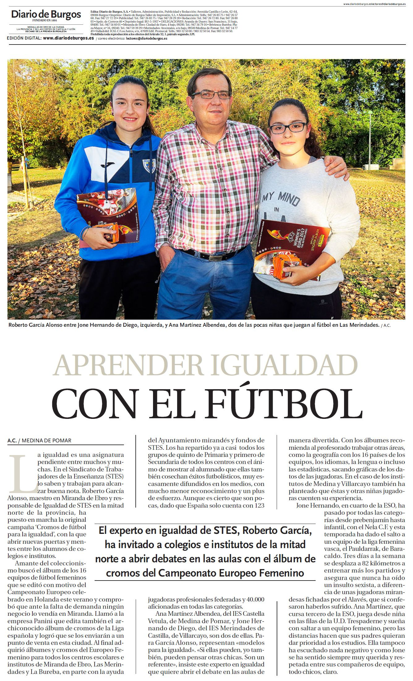STECyL 171025-Burgos-Futbol-Igualdad