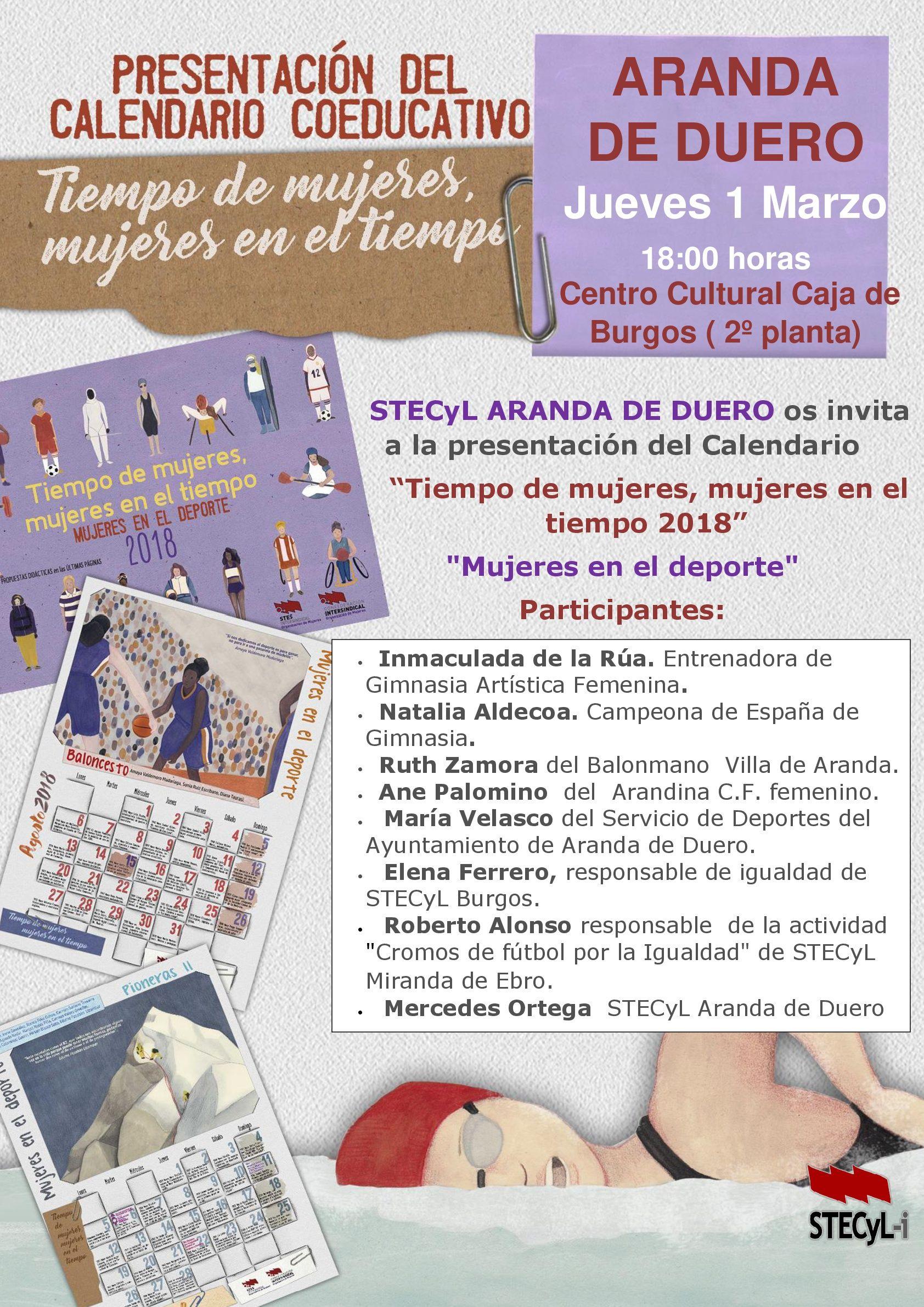 Calendario-tiempo-mujeres-2018-Aranda