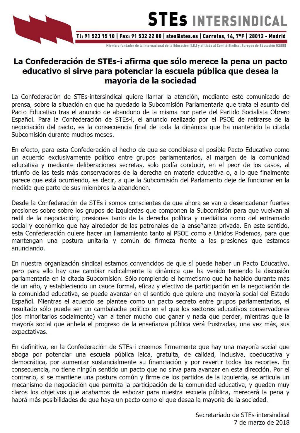 180307-Pacto-Educativo-potenciar-escuela-publica