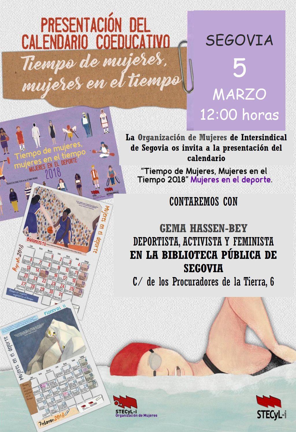 Calendario-tiempo-mujeres-2018-Segovia