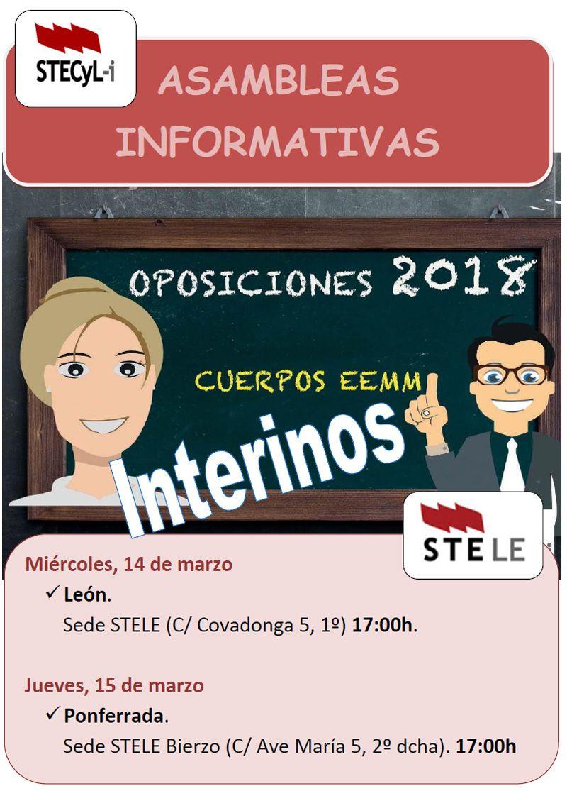 Cartel-Asamblea-Oposiciones-STE-Leon