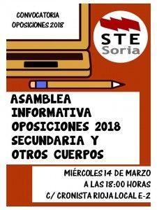 Cartel-Asamblea-Oposiciones-STE-Soria