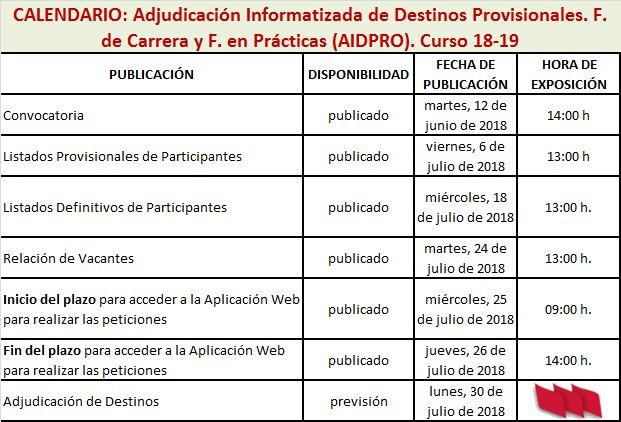 AIDPRO2018_Calendario-Profesorado-Sin-Destino-18-19