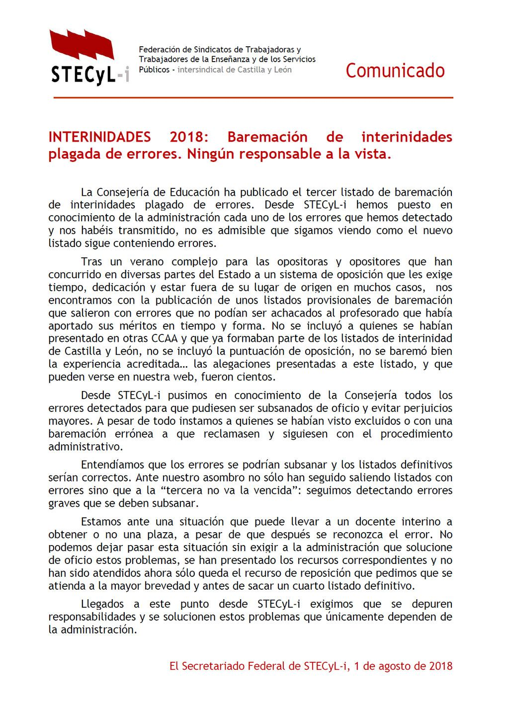 180801-Comunicado-Baremacion-Interinidades-2018