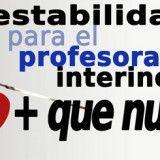 Estabilidad-Profesorado-Interino