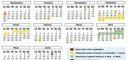 Calendario 2019 Escolar 2020 Madrid.Calendario Escolar Archivos Stecyl I