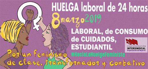 Cartel HUELGA 8M2019