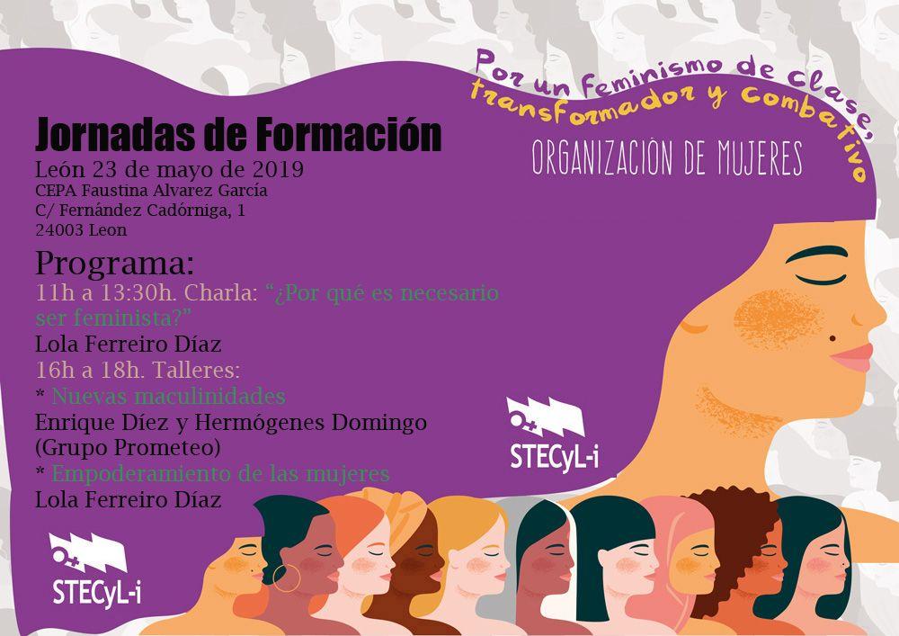 Jornada de la Organización de Mujeres de STECYL-i en León