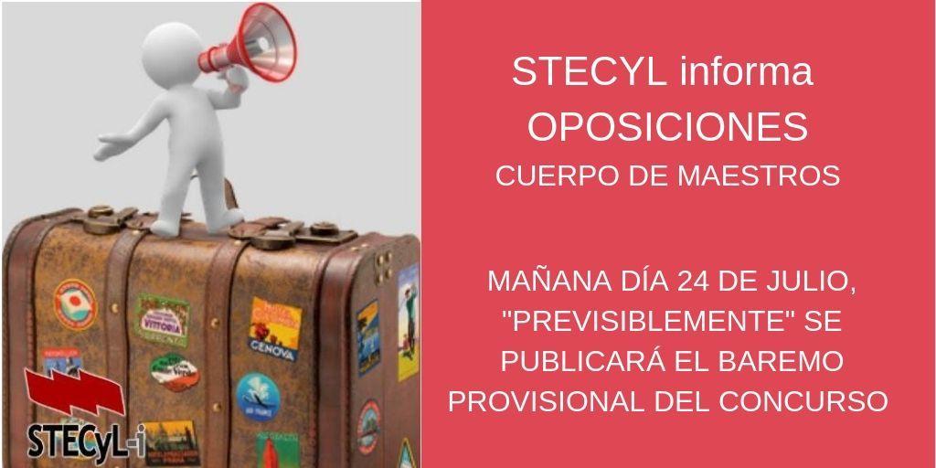 OPOSICIONES CUERPO DE MAESTROS