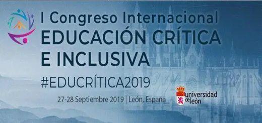 """I Congreso Internacional """"Educación Crítica: hacia una práctica inclusiva y comprometida socialmente"""""""