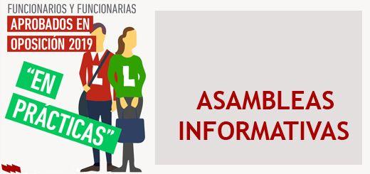 Asambleas Informativos Funcionarios Docentes en Prácticas 2019