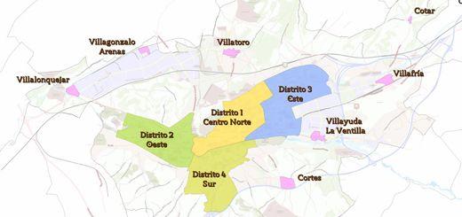 Mapa-distritos